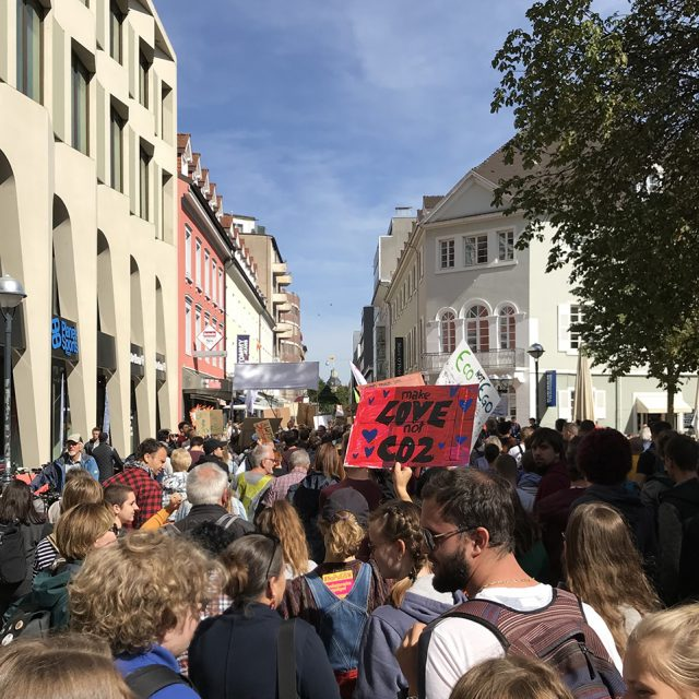 Demonstration von Fridays for Future, Karlsruhe (20.09.2019)