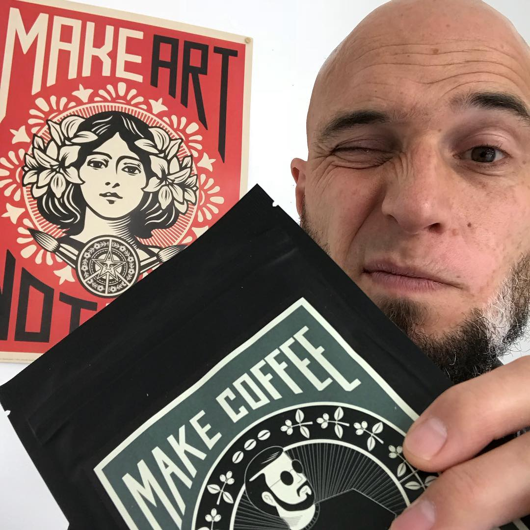 Make Coffee/Art – Not War